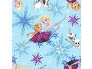 "Frozen-Sisters Skate Toss 59/60"""" Wide 100% Polyester D/R-Sisters Ice Skating Badges Toss"" 9SIA1055AP7998"