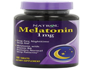 Natrol Melatonin 1mg Tablets 180 CT PACK OF 5