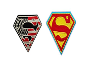 DC Comics Justice League Superman Logos Patch Iron On Gift Set 9SIA1055AY1435