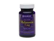 MRM Melatonin 3mg Vegetarian Caps 60 ea pack o f2