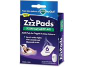 ZzzPads Scented Sleep Aid Refill Pads for Plugged In Sleep Enhancer 6 Pads Each Box 6 Boxes