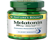 Natures Bounty Melatonin 10 mg Capsules Maximum Strength 60 CP - Buy Packs and SAVE (Pack of 4)