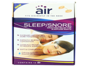 Air Sleep and Snore Advanced Nasal Breathing Aid 12 Count