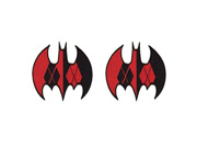 DC Comics The Justice League Batman Logo Harley Quinn 2 Pack Patch Iron On Gift Set 9SIA1055AY1462