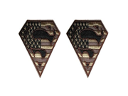 DC Comics The Justice League Superman Logo 2 Pack Patch Iron On Gift Set 9SIA1055AY1458