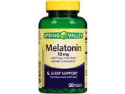 Spring Valley Melatonin 10 mg 120 Tablets