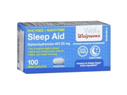 Walgreens Night Time Sleep Aid 100 ea