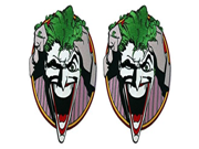 DC Comics The Justice League Joker Pulling Hair 2 Pack Patch Gift Set 9SIA1055AY1496