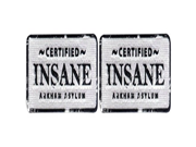 DC Comics The Justice League Certified Insane 2 Pack Patch Iron On Gift Set
