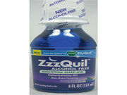 Zzzquil Soothing Mango Berry Liquid Nighttime Sleep aid 6 oz Per Bottle 2 Bottles