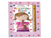 Childrens Marzipan Fun to Learn Recorder Book in a Box