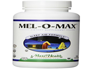 Maxi Health Mel O Max Melatonin with Valerian Root Sleep Aid 120 Capsules Kosher