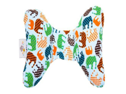 Baby Elephant Ears Head Support Pillow Blue Elephant