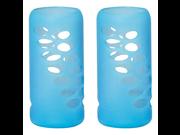 Protective Bottle Sleeve 8 oz. 2 Pack Light Blue