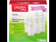 Playtex BPA Free Premium Nurser Bottles with Drop In Liners Gift Set 9SIA1055B22245