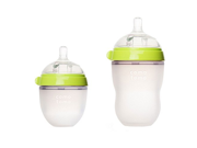 Comotomo Natural Feel Baby Bottles 8oz Bottle 5oz Bottle Pack Green