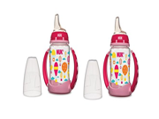NUK Fashion Pink Balloons Learner Cup, 5-Ounce (2 Count) 9SIA1055B22627