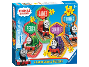 Thomas Friends 4 Friends 4 Shaped Puzzles