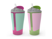 Born Free BPA-Free Grow with Me 10 oz. Straw Cup,2 Count, Girl 9SIA1055B22181