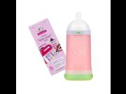 Adiri NxGen Stage 1 9.5 oz Nurser with Self Laminating Bottle Labels 3 6 Months Option 2