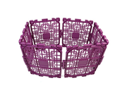 Play Fence 1Set Pet Panel Pet Play Safe Playard Portable Playard Yard Pet Playpen Summer Infant Secure Surround Play Safe Playard purple