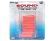 Sound Tamer Foam Ear Plugs 4 Pair with Case