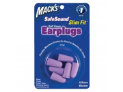 Macks Slim Fit Soft Foam Ear Plugs 3 Pair