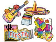 Fiesta Cutouts Printed on 2 Sides 15.75 19.75 Case Pack 12