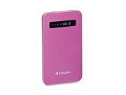 Verbatim Ultra-Slim Power Pack, 98452, USB, 4200mAh, Pink, TAA [Non - Retail Packaged] 9SIA1055E41866