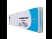 AIM Compatible Replacement Mutoh Valuejet 1204 2606 Cyan Eco Ultra Wide Format Inkjet 440 ML RJ80U 44CY Generic