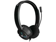 Turtle Beach Ear Force NLa Gaming Headset Black Nintendo Wii U