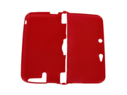 Protective Case Skin Cover for 3DS LL XL Clear Red