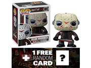 Jason Voorhees: Funko POP! Horror Movies x Friday the 13th Vinyl Figure + 1 FREE Classic Sci-fi & Horror Movies Trading Card Bundle [22925] 9SIA1055GS1375