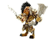 World of Warcraft Series 4 Gnoll Warlord: Gangris Riverpaw Action Figure 9SIA1055GS1465