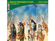Lucky Toys Roman Commanders Cavalry 1/72 Scale Plastic Toy Soldiers Set TL0007 - works well with HAT, Revell, Caesar 1/72 Toy Soldiers 9SIA1055GS1688