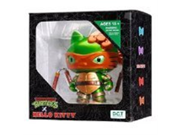 Michelangelo Hello Kitty Teenage Mutant Ninja Turtles TMNT Vinyl Figure 9SIA1055GS1418