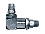 "High Pressure Swivels - 1/2""""-27 male x 1/4""""npt male swivel w/90deg.ang"" 9SIA1056DJ3355"