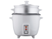 Brentwood TS-380S 10 Cup Rice Cooker with Steamer, Silver 9SIA1056PY4025