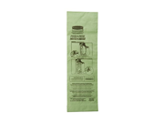 Rubbermaid Commercial FG9VMHBA12 Replacement Paper Bag for Upright Vacuum Cleaner (Pack of 10) 9SIA1056X06744