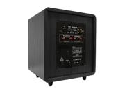 "Acoustic Audio CS-PS8-B Home Theater 8"" Powered Subwoofer 300 Watt Black Sub"