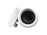 """Acoustic Audio HTI6c In Ceiling 6.5"""" Speaker 2 Way Home Theater 250 Watts"""