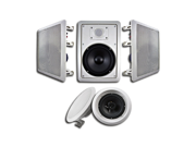 """Acoustic Audio HT-65 In Wall In Ceiling 1250 Watt 6.5"""" Home Theater 5 Speaker System"""