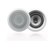 """Acoustic Audio CS-IC62 In Ceiling 6.5"""" Speaker Pair 2 Way Home 500W CS-IC62-Pr"""