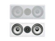 """Acoustic Audio CS-IW26CC In-Wall Dual 6.5"""" Center Channel Speaker 250 Watts"""