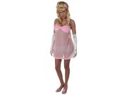 Get the look of a seductive and deadly robot in this sexy baby doll feminine robot dress