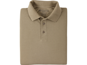 5.11 Tactical Shrink, Wrinkle & Fade Resistant Utility Polo 41180 Silver Tan M