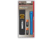 Maglite Mini Mag AA Pro LED Flashlight 226 Lumens - BLUE - SP2P11H