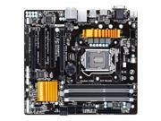 GIGABYTE mATX Motherboard Intel Z97 Socket 1150 w/ HDMI, DVI, RAID - GA-Z97M-D3H