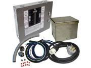 6296 50 Amp 120/240 Single Phase Manual Transfer Switch for Portable Generators Up to 12.5 kW