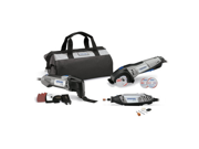 CKDR-02 Ultimate 3-Tool Combo Kit w/ 15 Accessories and Soft Case